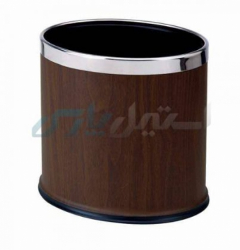 سطل زباله سلیکونی نسوز قهوه ای
