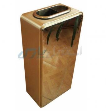 سطل زباله طلایی