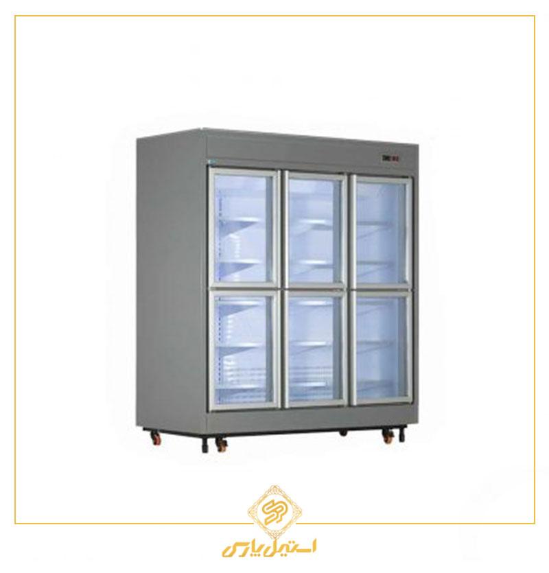 یخچال فروشگاهی ۶ درب کوتاه کینو