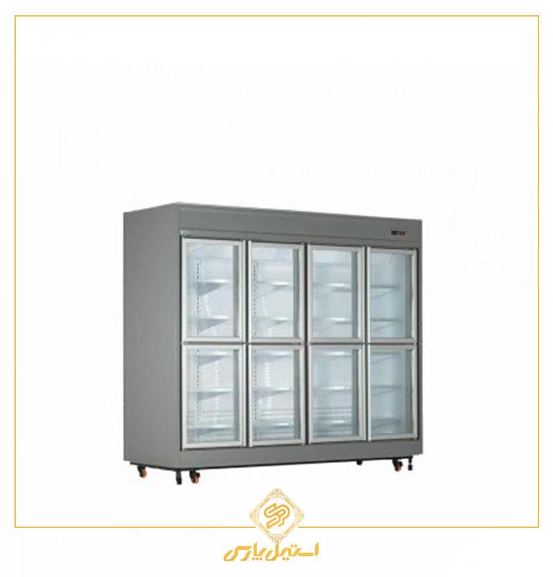 یخچال فروشگاهی ۸ درب کوتاه کینو