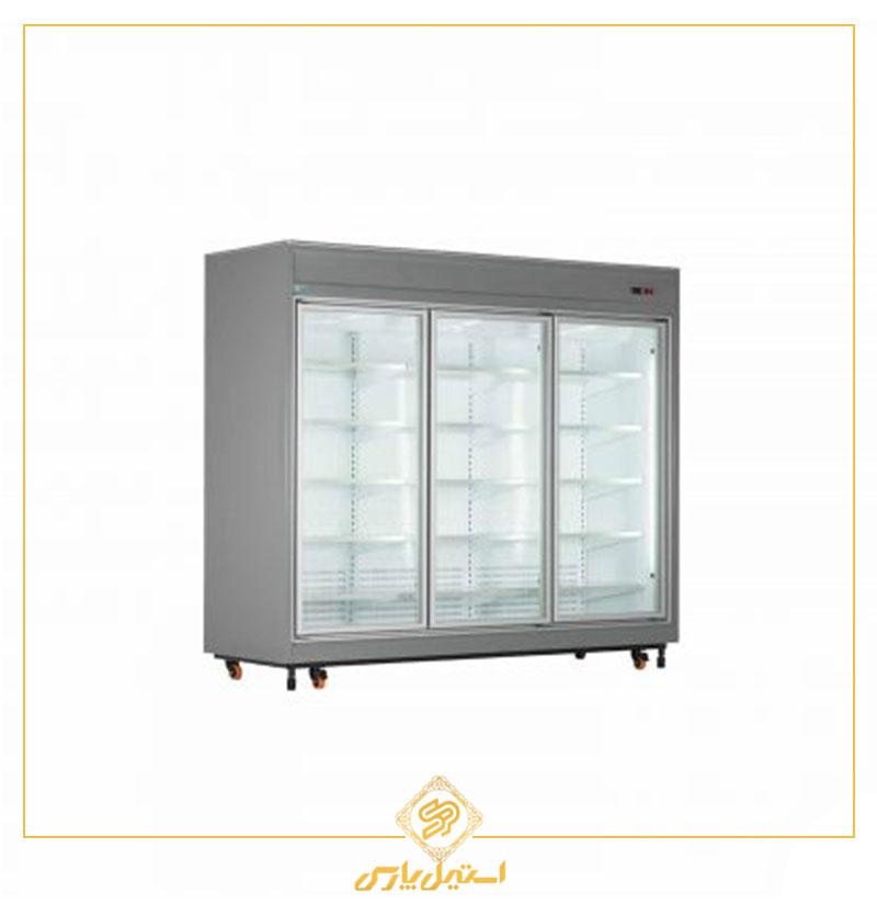 یخچال فروشگاهی سه درب عرض ۲۵۰ کینو