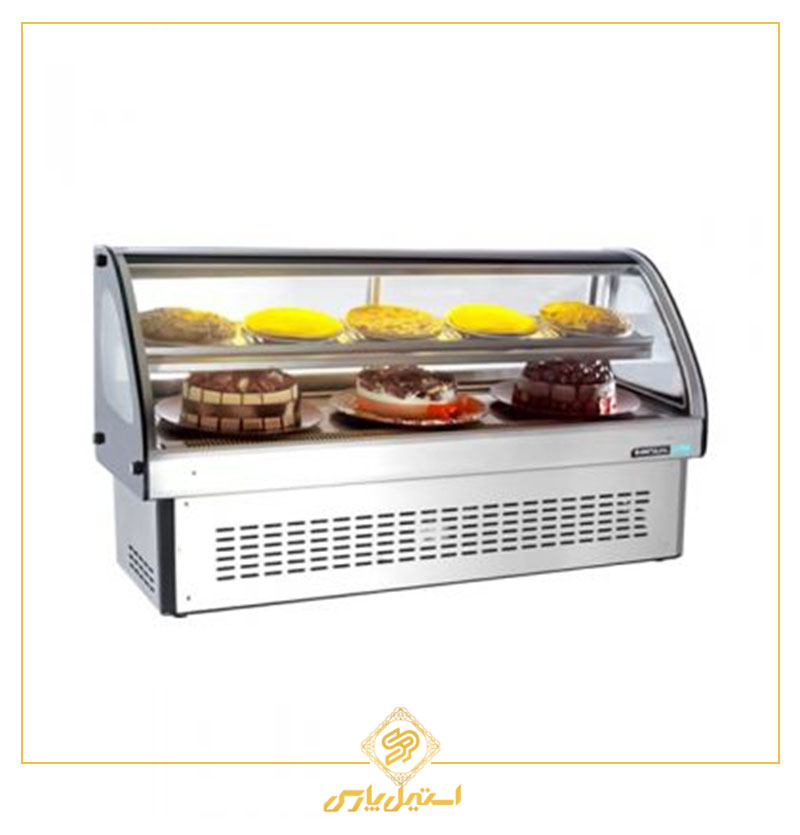 ویترین کیک رومیزی انویل مدل DFC 1900