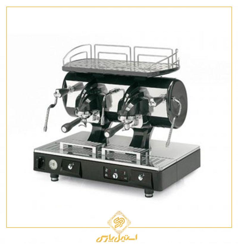 اسپرسوساز آستوریا دو گروپ نیمه اتوماتیک مدل Sibilla مشکی