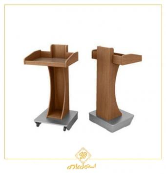 میز تریبون سخنرانی سالن اجتماعات چوبی مدل ۳۰۰۰