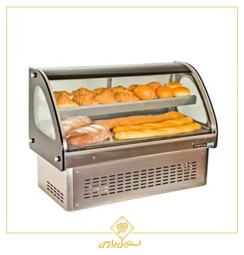 ویترین گرم انویل رومیزی دوطبقه مدل DHC 1500