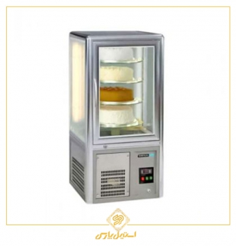 ویترین کیک رومیزی انویل چهار طبقه مدل CDF4000