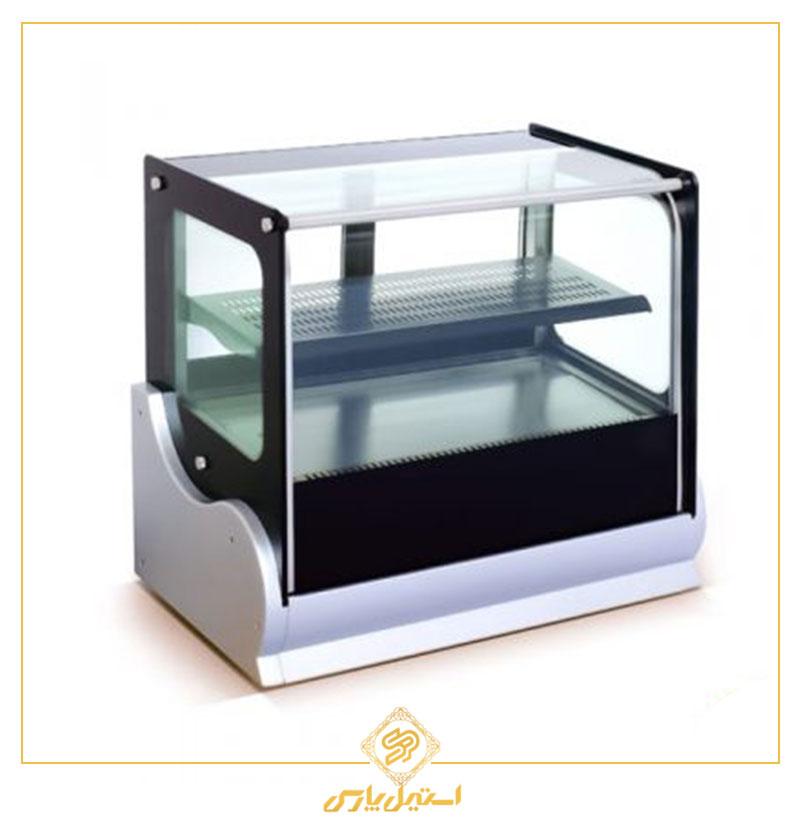 ویترین کیک رومیزی انویل مدل DFC 4900